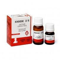 IODID Z/E, набор 20г + 10 мл, средство для пломбирования корневых каналов, Dentstal