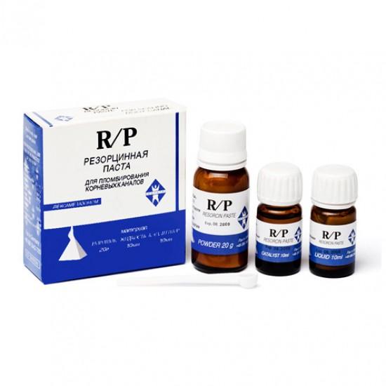 R/P, набор 20г + 10мл + 10мл, средство для пломбирования корневых каналов, Dentstal