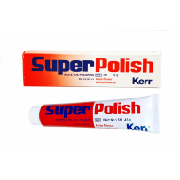 Super Polish, туба 45 г, паста для полирования зубов, Kerr